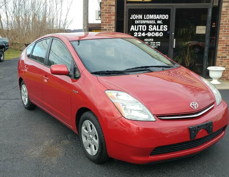 2006 Toyota Prius for sale at John Lombardo Enterprises Inc in Rochester NY