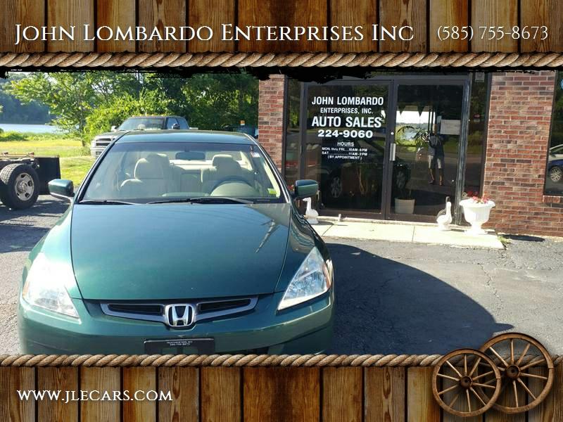 2003 Honda Accord for sale at John Lombardo Enterprises Inc in Rochester NY