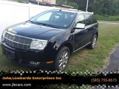 2008 Lincoln MKX for sale at John Lombardo Enterprises Inc in Rochester NY