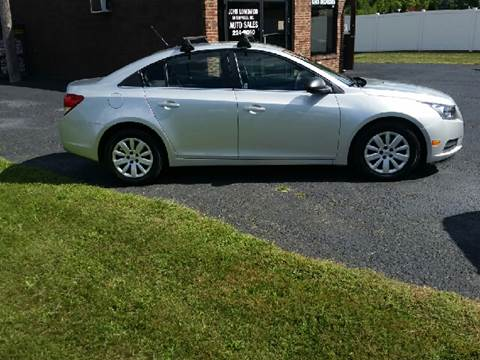 2011 Chevrolet Cruze for sale at John Lombardo Enterprises Inc in Rochester NY