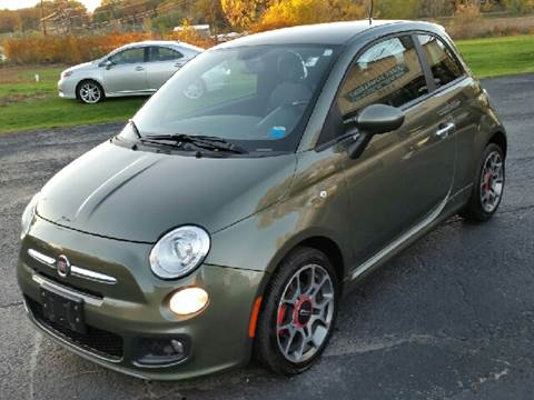 2012 FIAT 500 for sale at John Lombardo Enterprises Inc in Rochester NY