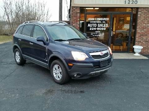 2008 Saturn Vue for sale at John Lombardo Enterprises Inc in Rochester NY