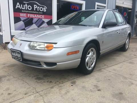 2002 Saturn S-Series for sale at AutoPros - Waterloo in Waterloo IA