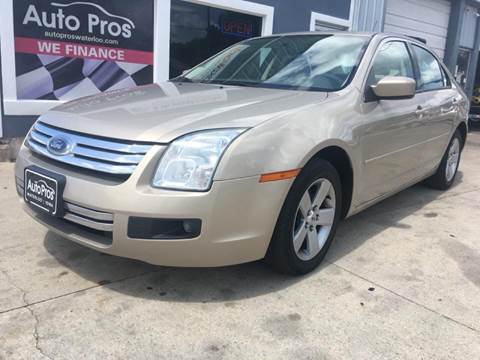 2007 Ford Fusion for sale at AutoPros - Waterloo in Waterloo IA