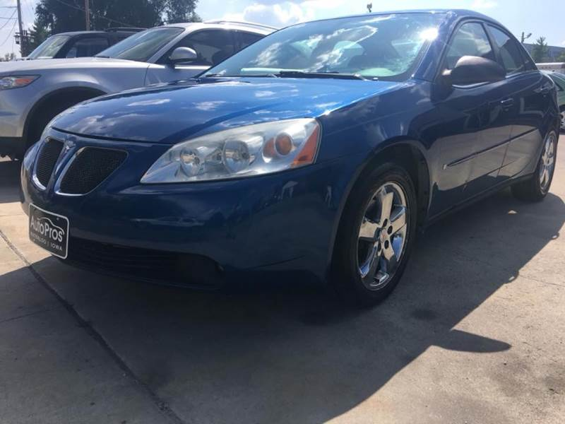 2007 Pontiac G6 for sale at AutoPros - Waterloo in Waterloo IA