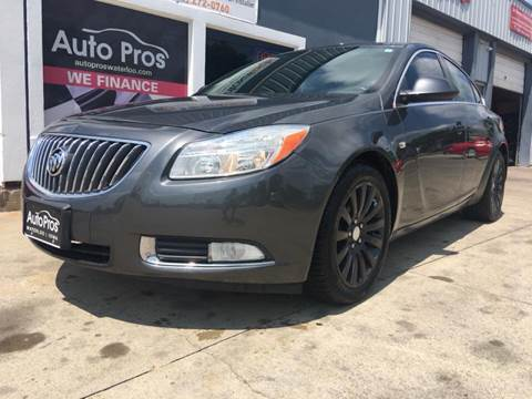 2011 Buick Regal for sale at AutoPros - Waterloo in Waterloo IA