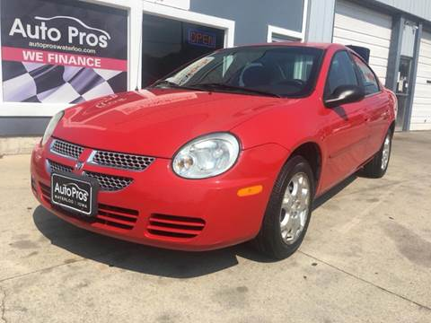 2005 Dodge Neon for sale at AutoPros - Waterloo in Waterloo IA