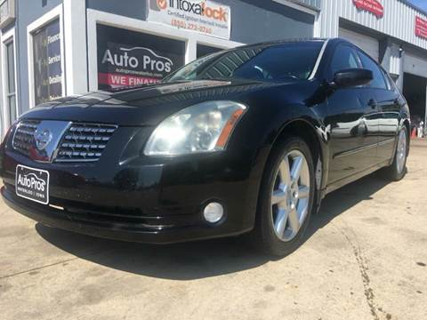 2005 Nissan Maxima for sale at AutoPros - Waterloo in Waterloo IA