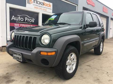 2002 Jeep Liberty for sale at AutoPros - Waterloo in Waterloo IA