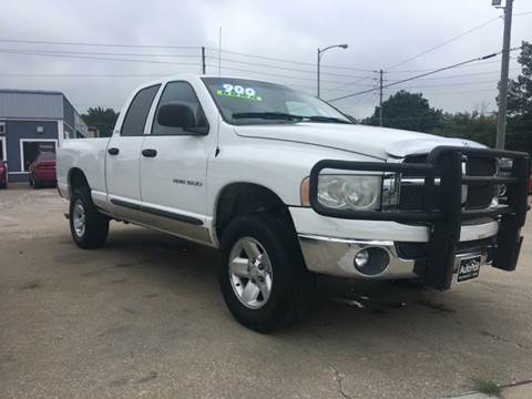 2002 Dodge Ram Pickup 1500 for sale at AutoPros - Waterloo in Waterloo IA