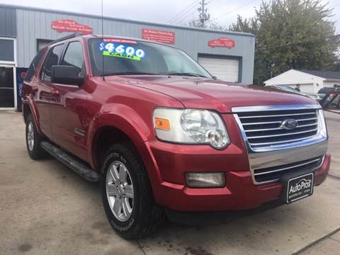 2007 Ford Explorer for sale at AutoPros - Waterloo in Waterloo IA