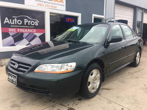 2001 Honda Accord for sale at AutoPros - Waterloo in Waterloo IA