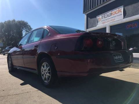2005 Chevrolet Impala for sale at AutoPros - Waterloo in Waterloo IA