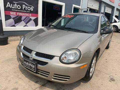 2003 Dodge Neon for sale at AutoPros - Waterloo in Waterloo IA