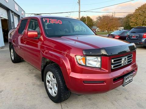 2006 Honda Ridgeline for sale at AutoPros - Waterloo in Waterloo IA