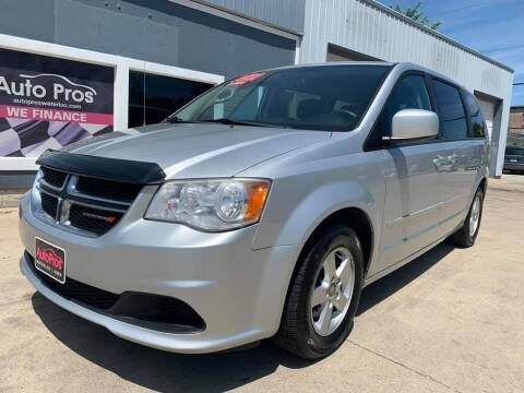 2012 Dodge Grand Caravan for sale at AutoPros - Waterloo in Waterloo IA