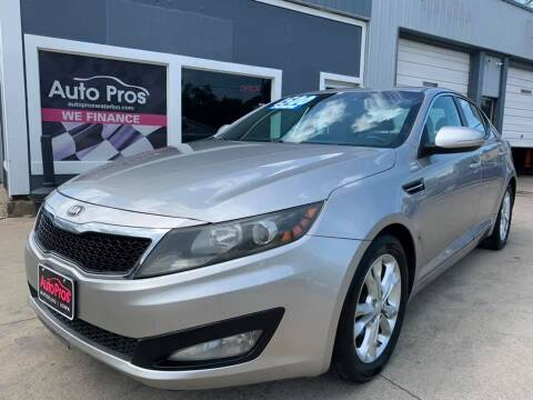 2013 Kia Optima for sale at AutoPros - Waterloo in Waterloo IA