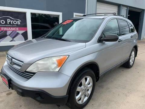 2008 Honda CR-V for sale at AutoPros - Waterloo in Waterloo IA
