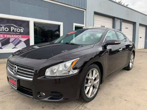 2010 Nissan Maxima for sale at AutoPros - Waterloo in Waterloo IA