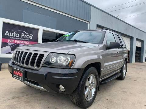 1999 Jeep Grand Cherokee for sale at AutoPros - Waterloo in Waterloo IA