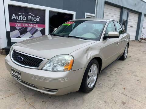 2005 Ford Five Hundred for sale at AutoPros - Waterloo in Waterloo IA