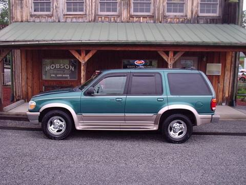 1998 Ford Explorer for sale at Hobson Performance Cars in East Bend NC