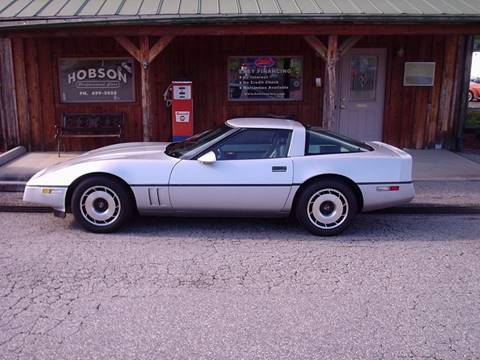 1984 Chevrolet Corvette for sale at Hobson Performance Cars in East Bend NC