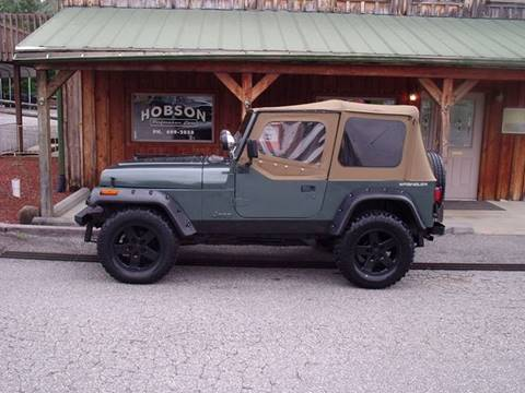 1993 Jeep Wrangler for sale at Hobson Performance Cars in East Bend NC