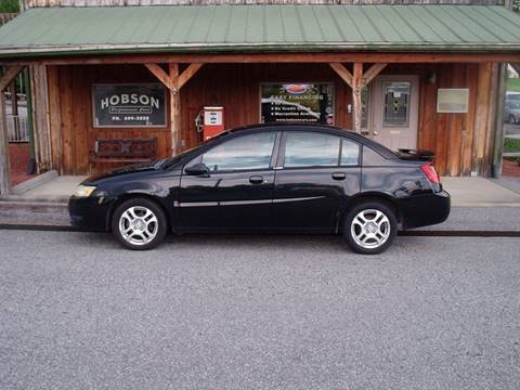 2004 Saturn Ion for sale at Hobson Performance Cars in East Bend NC