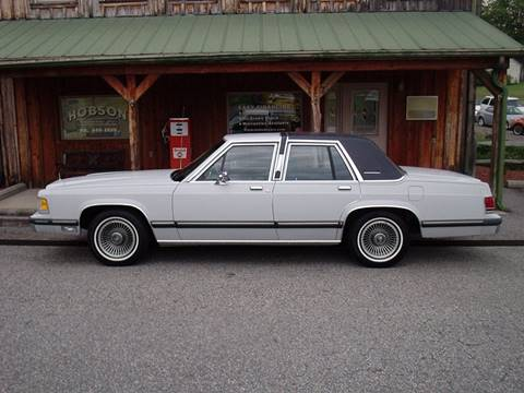 1988 Mercury Grand Marquis for sale at Hobson Performance Cars in East Bend NC