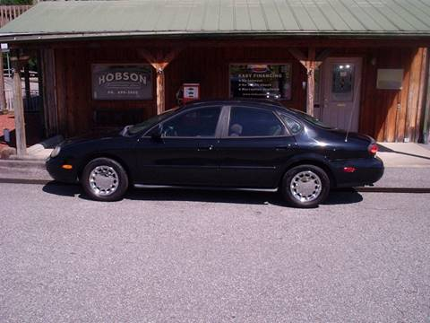 1998 Ford Taurus for sale at Hobson Performance Cars in East Bend NC