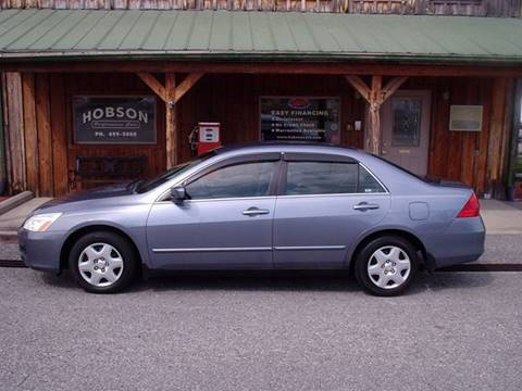 2007 Honda Accord for sale at Hobson Performance Cars in East Bend NC