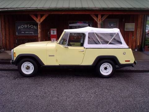 1973 Jeep Commander for sale at Hobson Performance Cars in East Bend NC