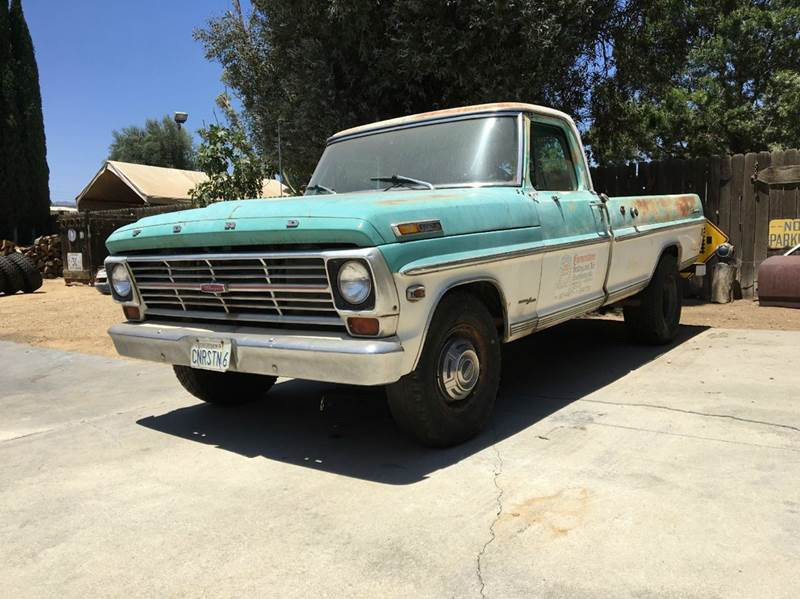 1969 ford ranger camper special in los angeles ca california