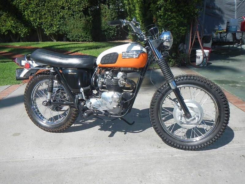 1971 Triumph Trophy 500 for sale at California Cadillac & Collectibles in Los Angeles CA