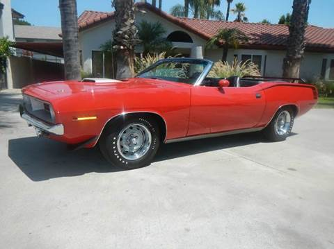 1970 Plymouth Barracuda for sale in Los Angeles, CA