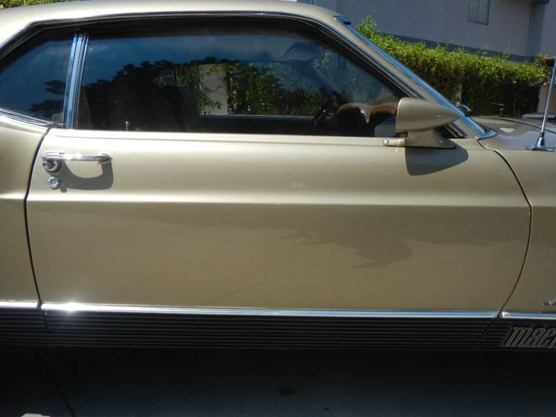 1970 Ford Mustang Mach 1 Drag Pack 428 SCJ - Los Angeles CA