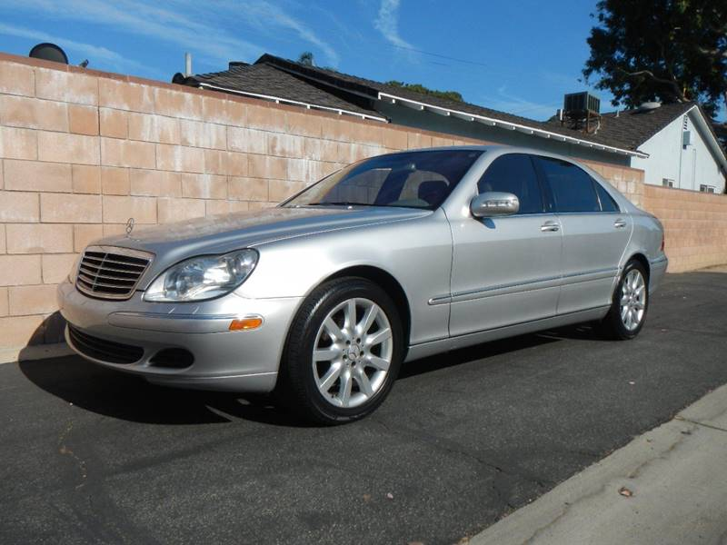2004 Mercedes Benz S Class S 500 4dr Sedan   Los Angeles CA
