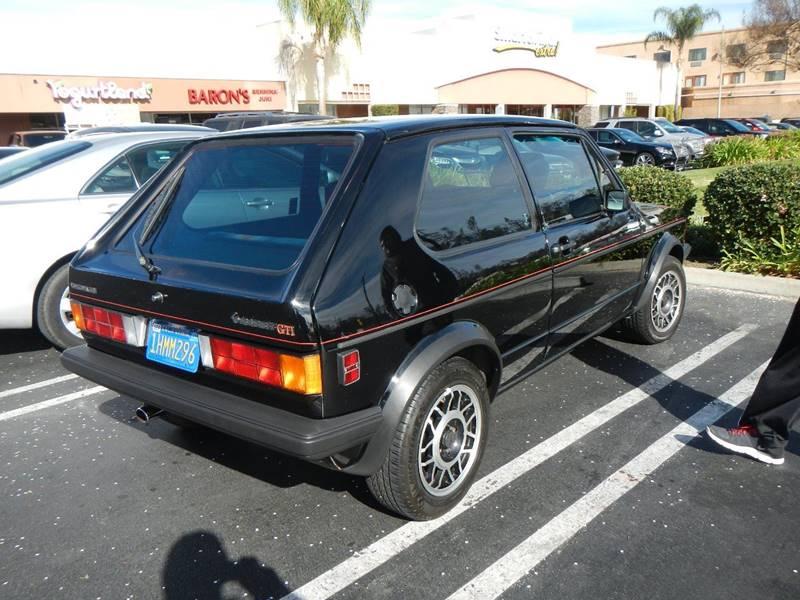 1984 Volkswagen GTI  - Los Angeles CA