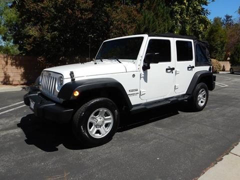 2014 Jeep Wrangler Unlimited for sale in Los Angeles, CA