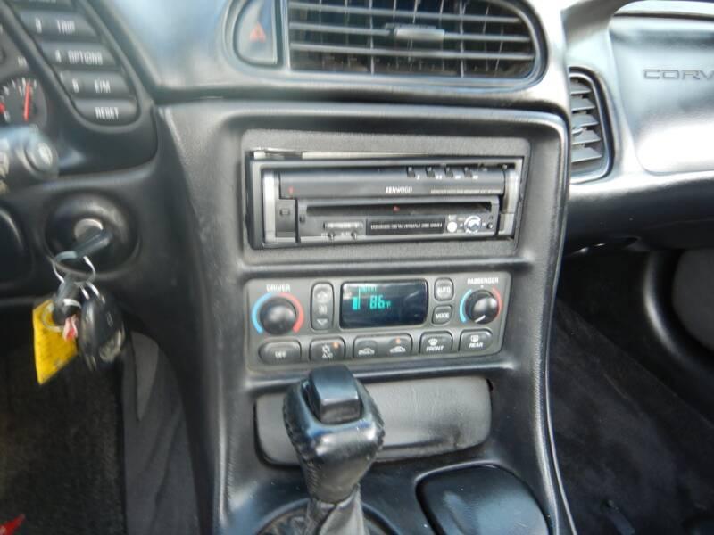2001 Chevrolet Corvette 2dr Convertible - Los Angeles CA