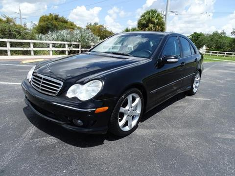 2007 Mercedes-Benz C-Class for sale in Pompano Beach FL