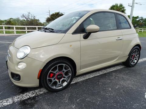 2012 FIAT 500 for sale in Pompano Beach, FL