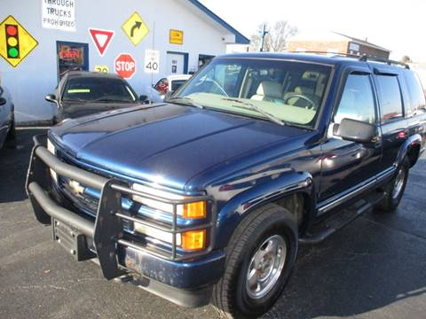 2000 Chevrolet Tahoe Limited/Z71 for sale in Middletown, OH