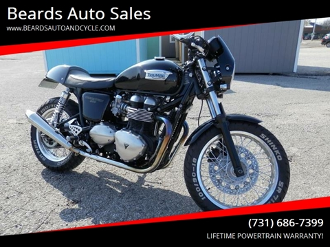 2014 Triumph Thruxton for sale in Milan, TN