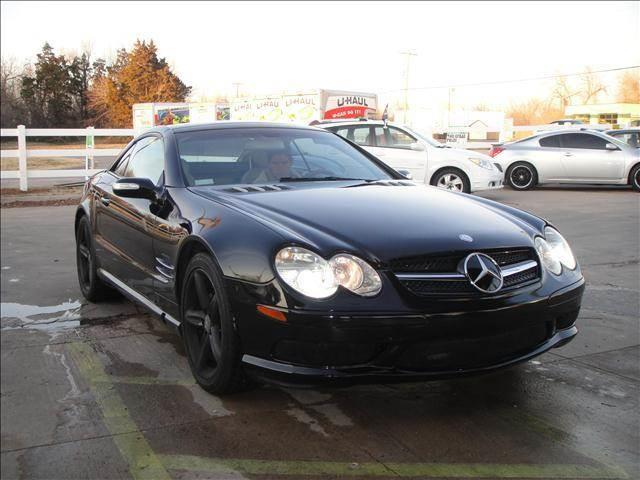 2004 Mercedes-Benz SL-Class for sale at AUTO BARGAIN, INC in Oklahoma City OK
