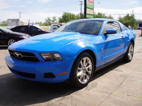 2010 Ford Mustang for sale at AUTO BARGAIN, INC in Oklahoma City OK