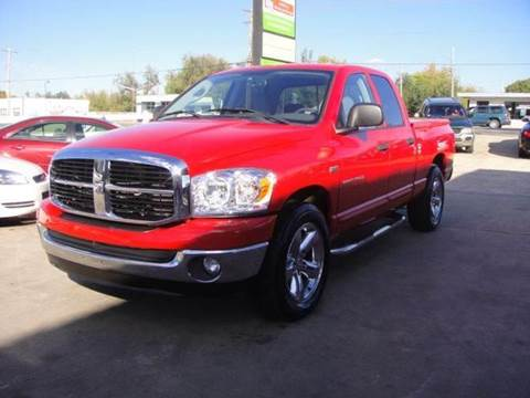 2007 Dodge Ram Pickup 1500 for sale at AUTO BARGAIN, INC in Oklahoma City OK