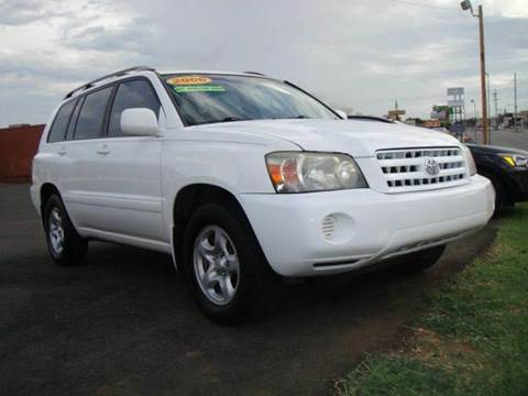 2006 Toyota Highlander for sale at AUTO BARGAIN, INC in Oklahoma City OK
