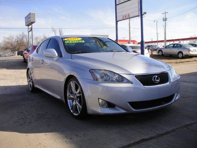 2007 Lexus IS 350 for sale at AUTO BARGAIN, INC in Oklahoma City OK